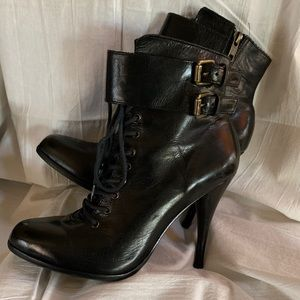 Joie Leather Ankle Boots, super hot!🔥🔥